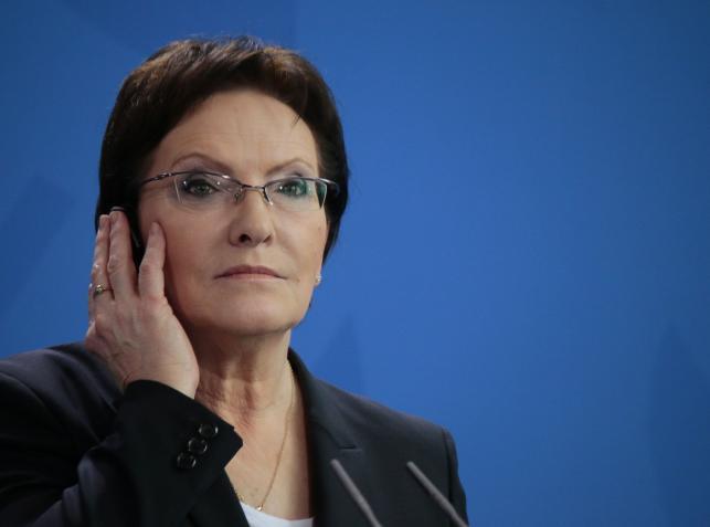 EWA KOPACZ, premier polskiego rządu
