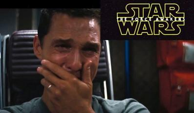"""Największym fanem """"Gwiezdnych wojen"""" jest... Matthew McConaughey"""