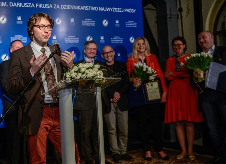 Rafał Woś laureatem tegorocznej Nagrody im. Dariusza Fikusa