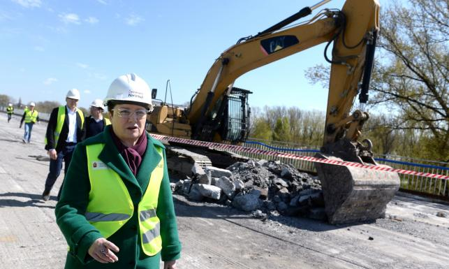 Budowa już trwa. Powstaje nowy Most Łazienkowski. ZOBACZ ZDJĘCIA