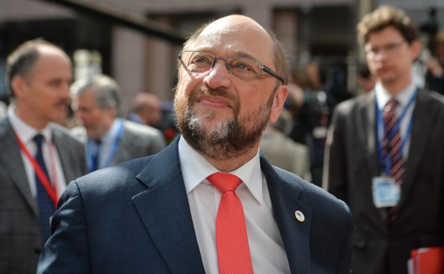 Szef Parlamentu Europejskiego Martin Schulz