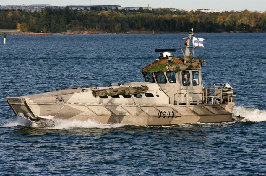Fińska łódź patrolowa