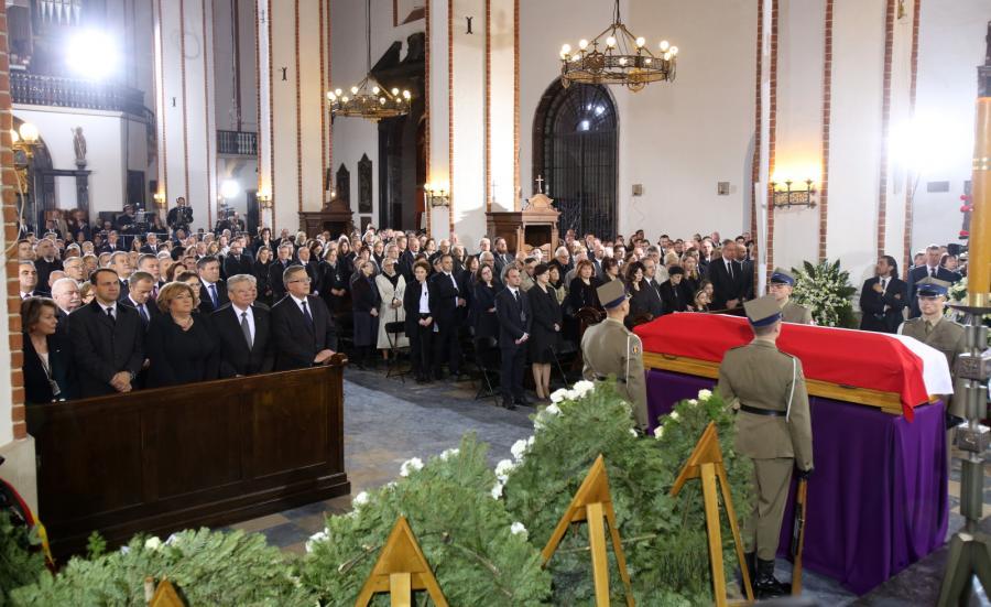 Pogrzeb Władysława Bartoszewskiego