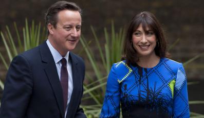 David Cameron i jego żona Samantha
