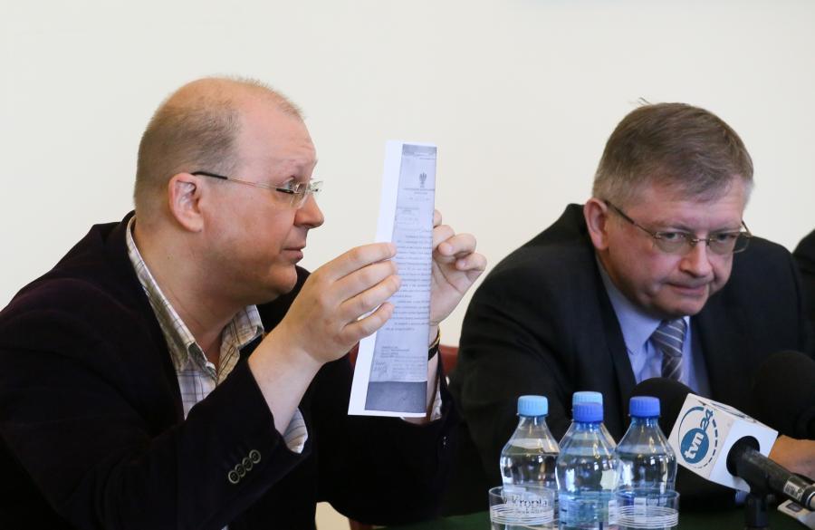 Leonid Swiridow i ambasador Federacji Rosyskiej w Polsce