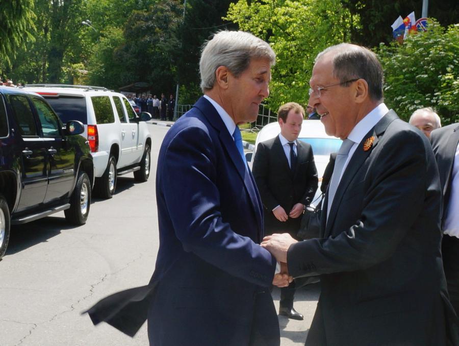 Siergiej Ławrow i Jehn Kerry