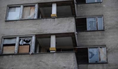 Warszawa, ulica Sobieskiego 100. Budynek użytkowany przez Rosję