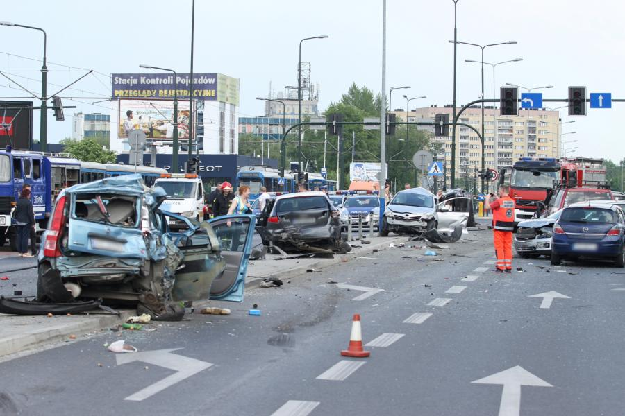 Wypadek w Krakowie