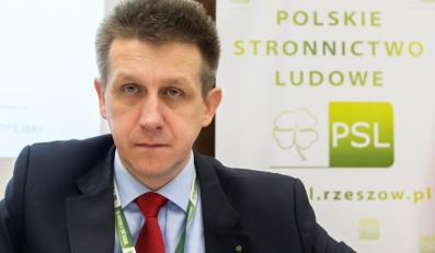 Poseł PSL Jan Bury