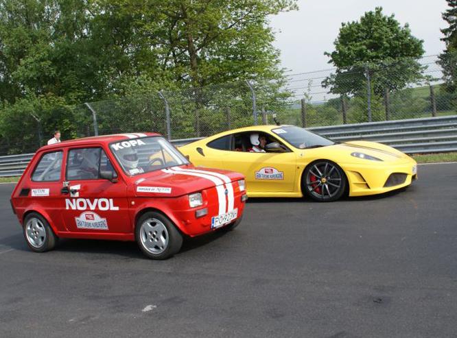 Maluch kontra Ferrari. Zaskakujący finał