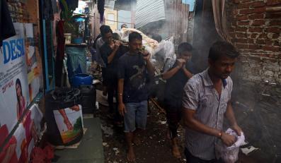 Ofiara skażonego alkoholu w Indiach