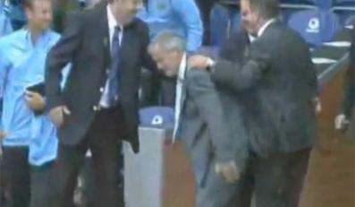 Oto widowiskowy upadek trenera Manchesteru City