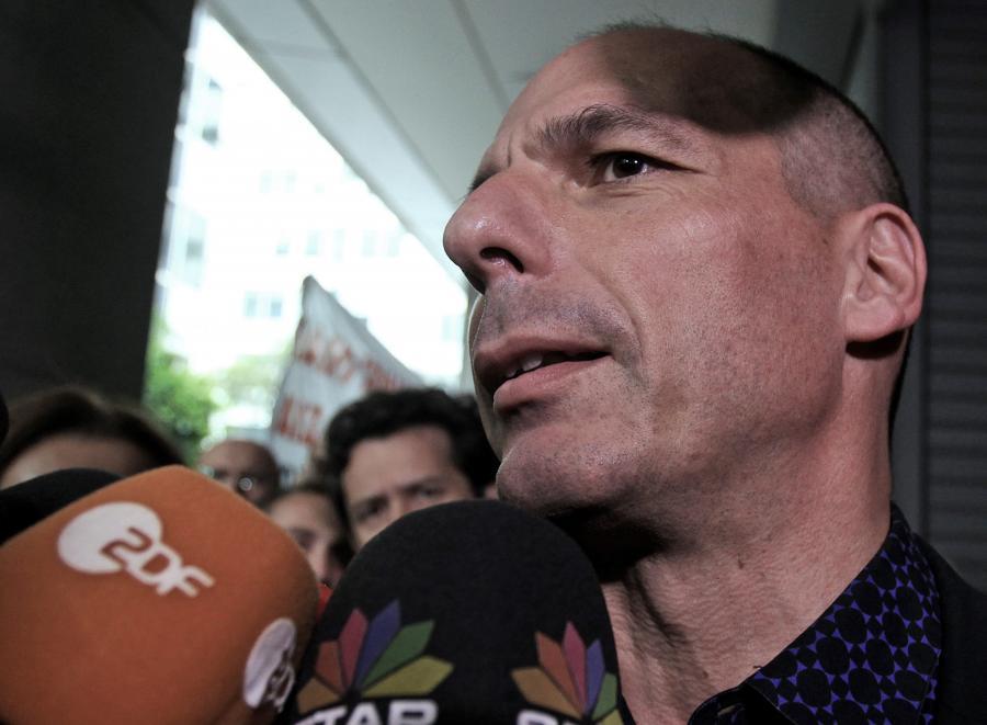 Minister finansów Janis Waroufakis