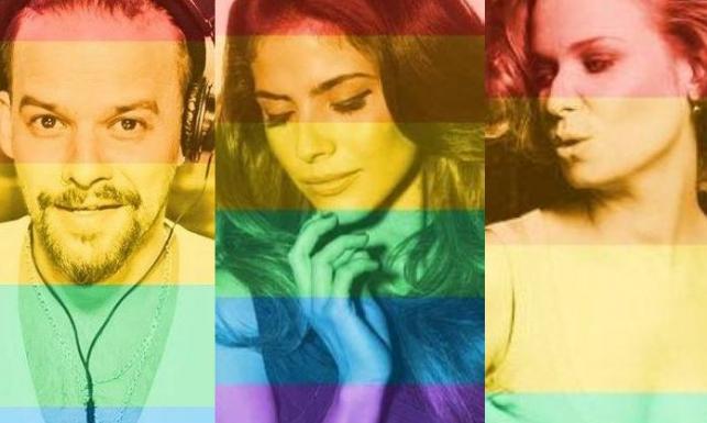 Tęczowe gwiazdy wspierają homoseksualne małżeństwa
