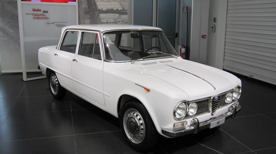 Alfa Romeo Giulia z 1962