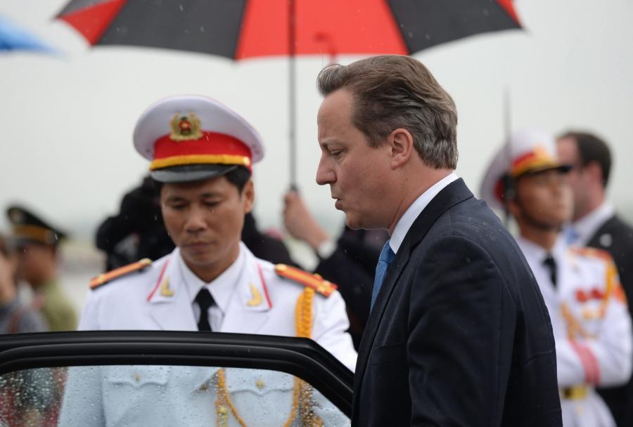 David Cameron w Wietnamie