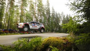 Rajd Finlandii: Robert Kubica