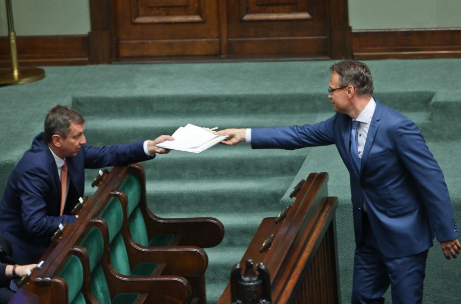 Andrzej Halicki i Arkadiusz Mularczyk