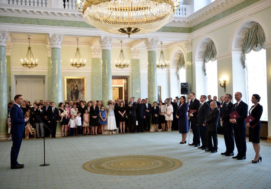 Andrzej Duda ogłasza skład Kancelarii Prezydenta