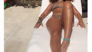 Rihanna na Barbados poleciała z Lewisem Hamiltonem