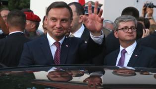 Andrzej Duda i szef BBN Paweł Soloch