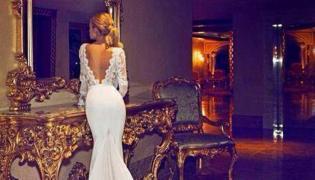 Jennifer Aniston w sukni ślubnej