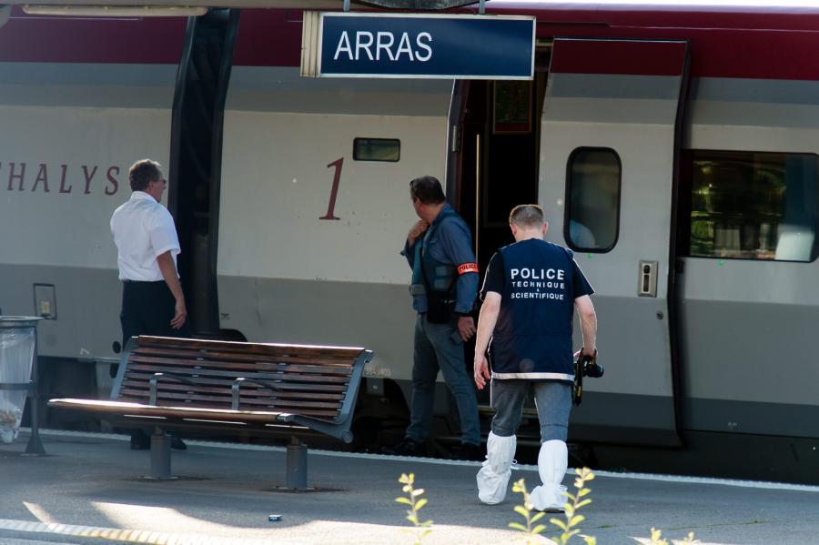 Strzały w pociągu. Atak terrorystyczny?