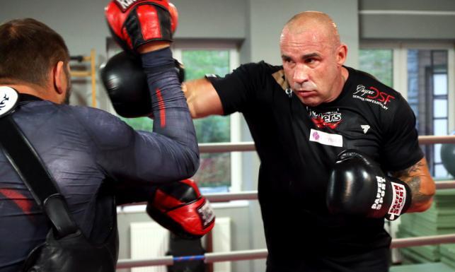 Przemysław Saleta szykuje się do walki z Tomaszem Adamkiem. ZDJĘCIA