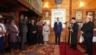BOHONIKI. Andrzej Duda odwiedził meczet