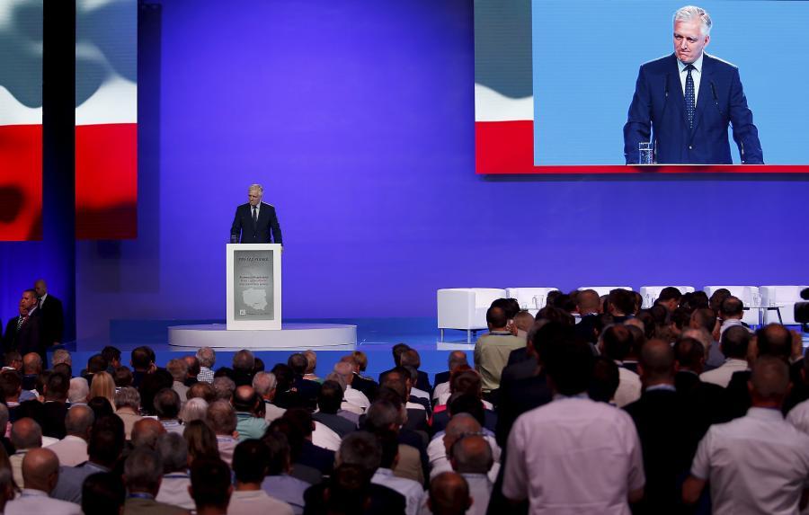 Jarosław Gowin na konwencji programowej PiS