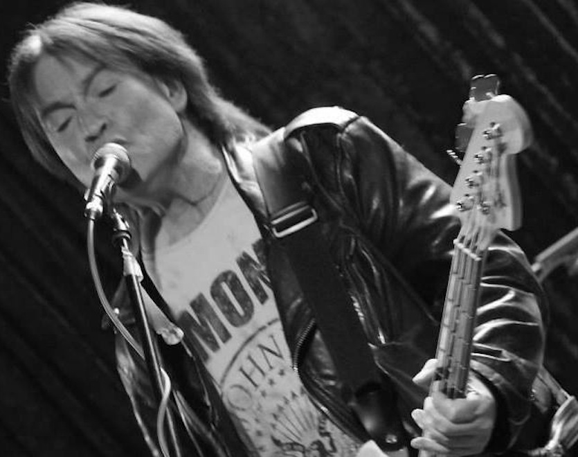 Basista punkowej legendy Bryn Merrick (1958 – 2015)