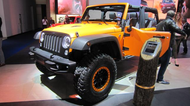 Jeep Wrangler Rubicon Sunriser