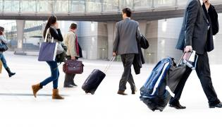 Pracownicy podróżujący