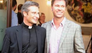 Ks. Krzysztof Charamsa z partnerem, Eduardo