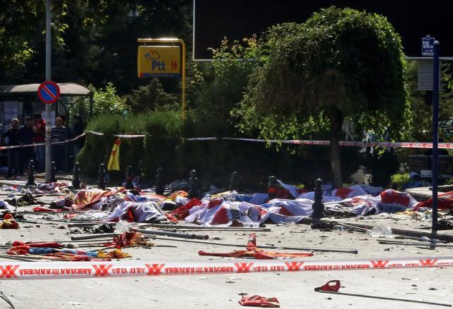 Ankara, stolica Turcji: Krwawy zamach terrorystyczny