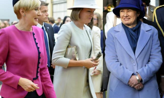 Prezydent Warszawy nie dała rady dorównać stylem pierwszej damie i królowej. FOTO