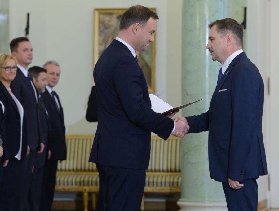 Prezydent RP Andrzej Duda powołał przewodniczącego Solidarności Piotra Dudę w skład Rady Dialogu Społecznego