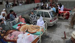 Trzęsienie ziemi w Pakistanie