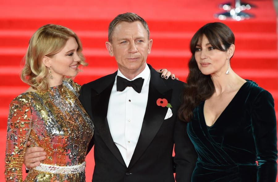 Daniel Craig, Lea Seydoux i Monica Bellucci