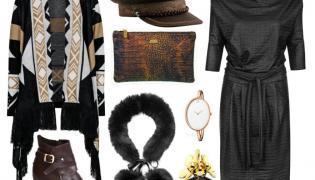 Sweter – MOSQUITO/mosquito-sklep.pl, saszetka – antbag by ania/antbags.pl, sukienka – Midori Feminine Fashion/midori.pl, buty – Follow Me/followmebutik.pl, kołnierz – Gena/gena.pl
