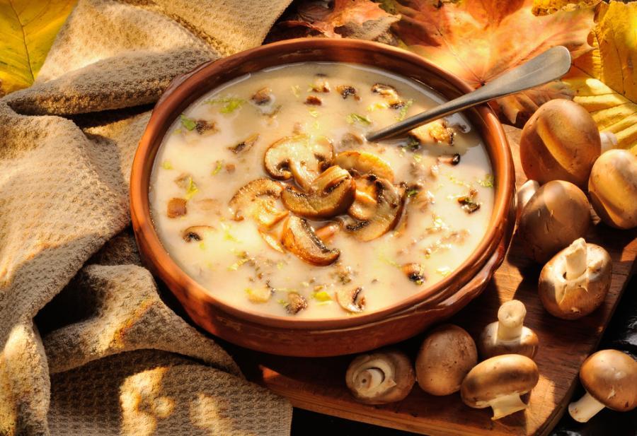 Zupa krem grzybowy