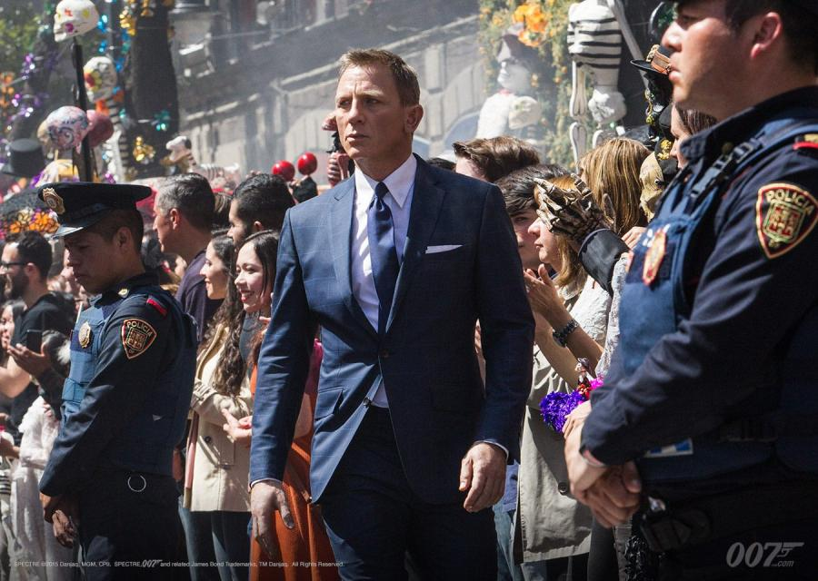 "Daniel Craig w filmie ""Spectre"""