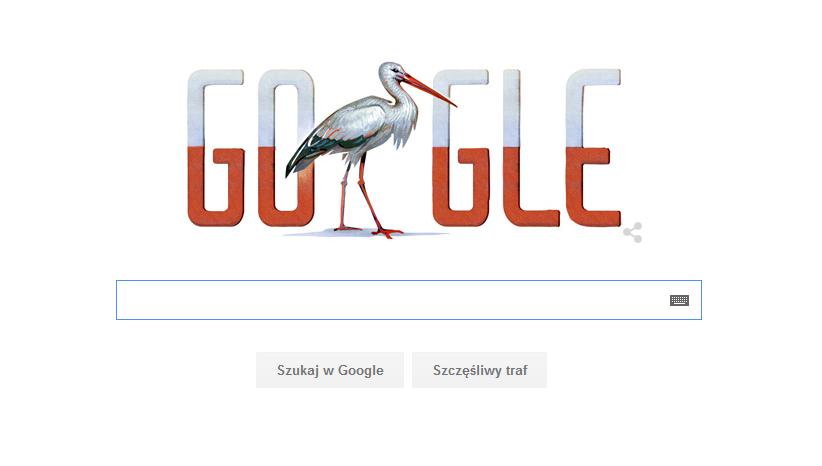 Google Doodle z okazji 11 listopada