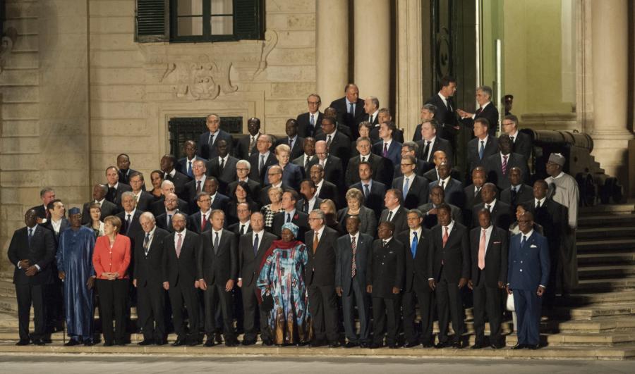 Afrykańscy i europejscy przywódcy na szczycie ws. kryzysu migracyjnego, Valletta, Malta