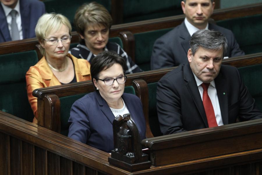 Ewa Kopacz, Janusz Piechociński w Sejmie