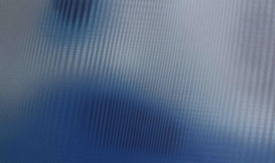 Interferencje VIII, akryl na płótnie, 150x90 cm