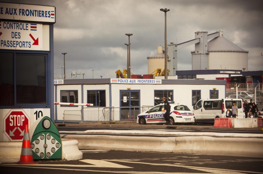 Francuskie przejście graniczne