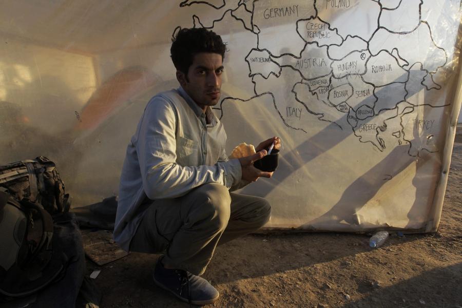Uchodźca z Iranu