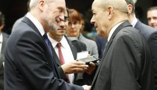 Antoni Macierewicz i Jean Yves le Drian