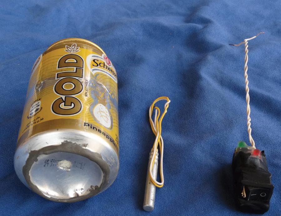 Bomba, którą ISIS podłożyła w samolocie